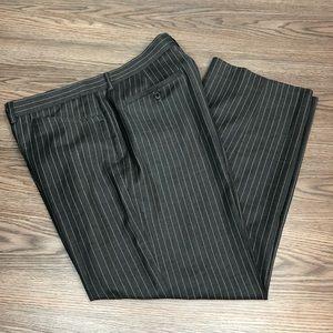 Michael Kors Grey w/ White Pinstripe Pants 38x30